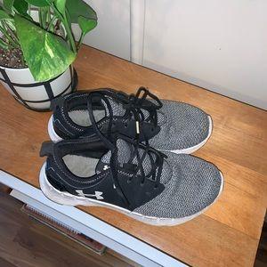 Well worn Under Armor Sneakers